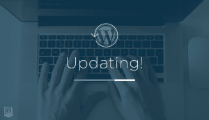 update wordpress pour le securite tognol charles