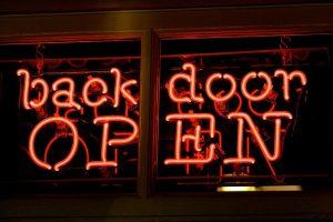 back-door wordpress