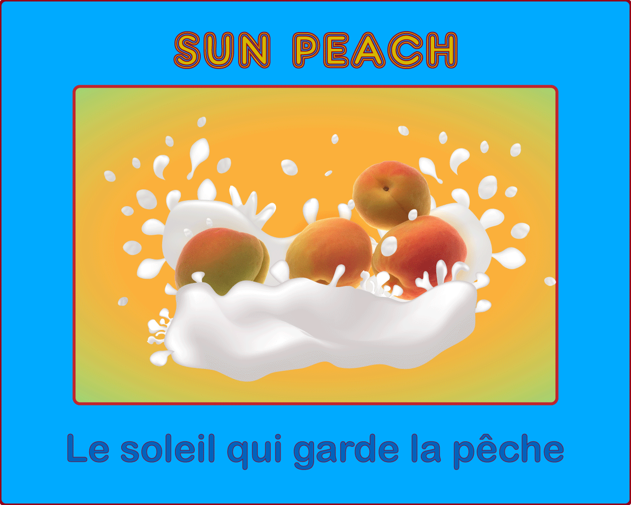 sun peach